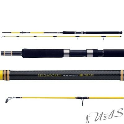 Daiwa Megaforce Pilk 2,70M 40-100G Top High Carbon Pilk Rute Grund Rute