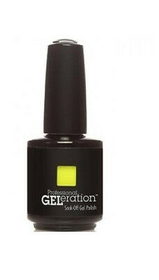 Jessica GELeration Soak Off Gel Polish - Yellow Flame #092, .5 fl oz. (15 mL)