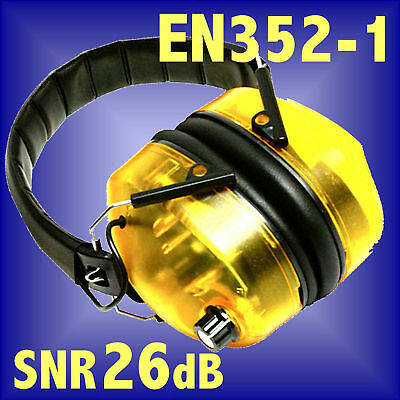 ELECTRONIC EAR DEFENDERS EN352 SNR26 muffs hearing protection plugs shooting