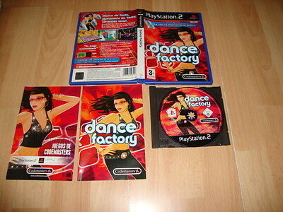 Dance Factory De Codemasters Para La Sony Ps2 Usado Completo