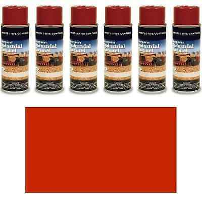 TP140SP New 6 (Six) Pack of Flambeau Red Spray Paint Cans for Case IH Models