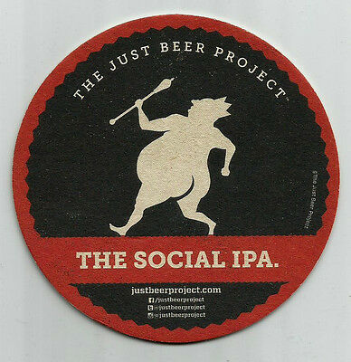 15  The Just Beer Project   Social IPA  Beer Coasters