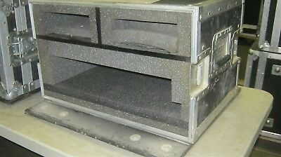 Anvil Double Ended 24x25x16 Computer Work Station Case Wheel Caster Plates