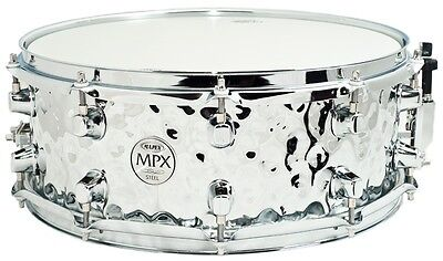 Mapex MPST4550H MPX Hammered Steel Snare 14x5.5in