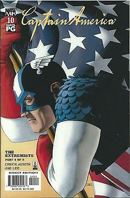 Captain America #10 (4Th Series) (Marvel Knights)  2002