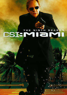 CSI Miami ~ Complete 9th Ninth Season 9 Nine ~ NEW 6-DISC DVD SET
