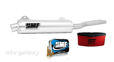 HMF Performance Slip On Exhaust + Jet Kit + Uni Filter Kawasaki Brute Force 650