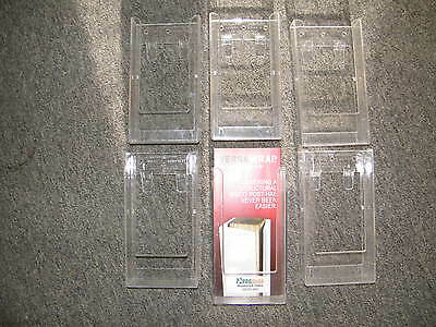 """Expanda-Stand Brochure Holder 4"""" x 8"""" Lot of 6"""