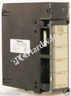 GE Fanuc IC693ALG220C 90-30 Series Voltage Analog Input Module 4 Channels QTY
