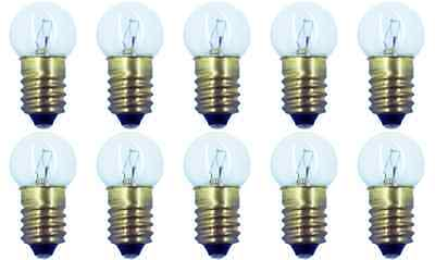 Box of 10 #432 Miniature Lamp Lionel Bulb E10 18V, 4.5 Watt