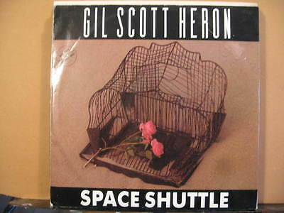 "GIL SCOTT HERON Space shuttle 2 versions/WAR IS VERY UGLY 12"" single Free UKpost"