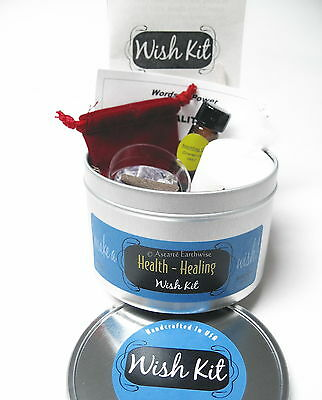 HEALTH HEALING SPELL KIT  Wicca Pagan Witch Goth