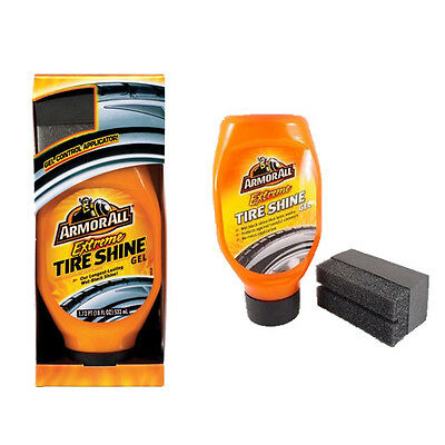 Armorall Extreme Tyre Tire Shine Gel Protect Rubber Fade Cracking + Applicator