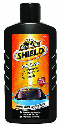 Armorall GLASS Shield Rain Water Dirt Repellent Windscreen Window Visibility