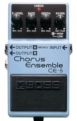 Boss CE5 Chorus Ensemble Electric Guitar Effects Pedal CE-5
