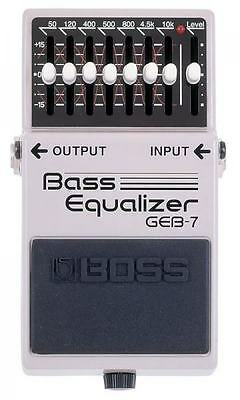 Boss GEB-7 Bass Equalizer Efx Pedal