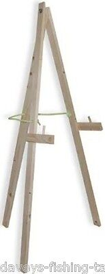Wooden Folding Crossbow Long Bow Target Boss Straw Holder Stand Archery Practice