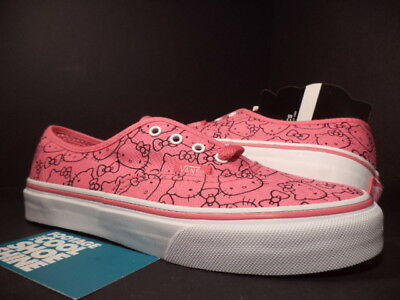 41636bb9c76047 Kids 2011 VANS AUTHENTIC PS HELLO KITTY PINK WHITE BLACK VN-0KUKL8T DS NEW  3Y