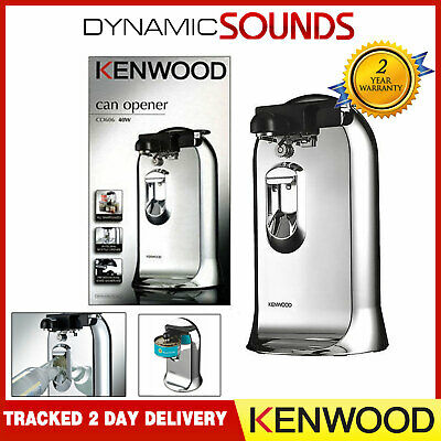 Kenwood CO606 3in1 Electric Can Opener & Knife Sharpener with Bottle Opener 40W