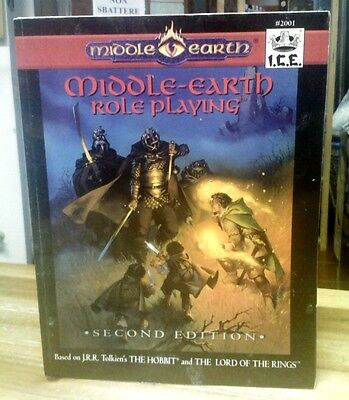 ICE Middle Earth Role Playing Second Edition Core Rulebook MERP Softback