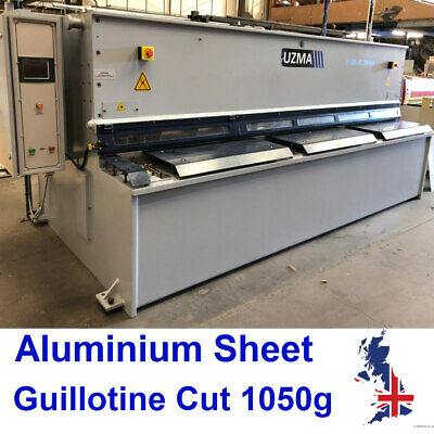 ALUMINIUM SHEET Plate .7 .9 1.2 1.5 2.0 2.5 3.0 4.0 mm Guillotine Cut UK Seller
