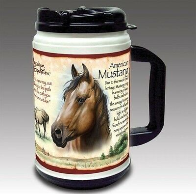 HORSE Plastic Thermal Mug 24oz  American Expedition