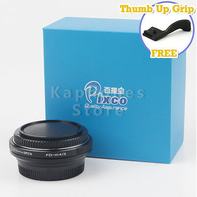 Camera Focal Focus Reducer Speed Booster For Canon FD Lens to Micro Four Thirds