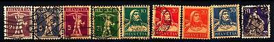 "SWITZERLAND - SVIZZERA - 1925-1933 - ""Walter Tell"" - ""Guglielmo Tell""  -  ""Helve"