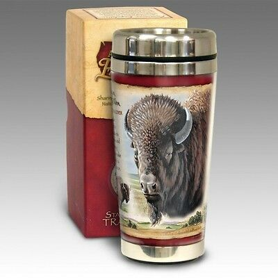 American Bison 16Oz Stainless Travel Mug