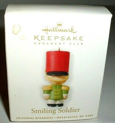 Smiling Soldier`2010`Miniature-Counting Down,Hallmark Christmas Ornament>Reduced