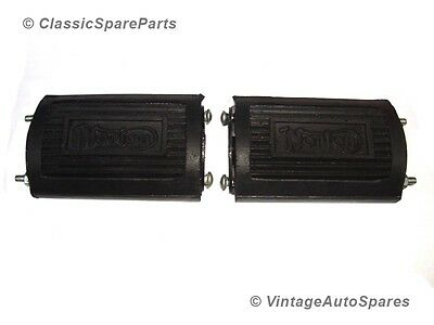 New Pair Of Norton Pedal Type Footrest Rubber Assembly @ Vintage Auto Spares