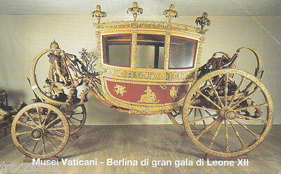 Vaticano Phone Card 1999 - Carrozza Di Gran Gala - L. 5000
