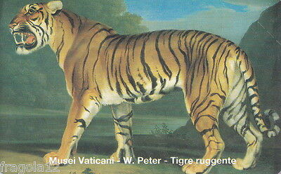 Vaticano Phone Card 1999 - Peter - Tigre Ruggente - L. 5000