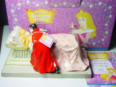Disney Royal Doulton Sleeping Beauty LOVES FIRST KISS, New in Box, RARE!