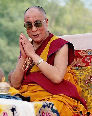 Dalai Lama 8 x 10 / 8x10 GLOSSY Photo Picture