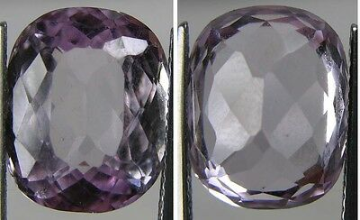 9.75ct Afghanistan From 100% Natural Rough Pink Kunzite Oval Cut Gemstone 1.95g