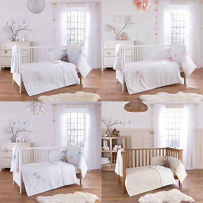 Clair de Lune Stardust 3 Piece Cot Bed Quilt Bedding Bale