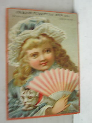 Oregon Furniture Mfg Co. Portland, Oregon Trade Card