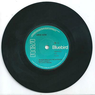 """Aunty Kathy - Oh Dear What Can The Matter Be - 7"""" Vinyl1969 Rca Bluebird Records"""