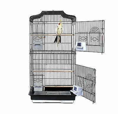 Rainforest Cages *st Lucia* Tall Xl Budgie Cockatiel Finch Bird Cage & Free Toy
