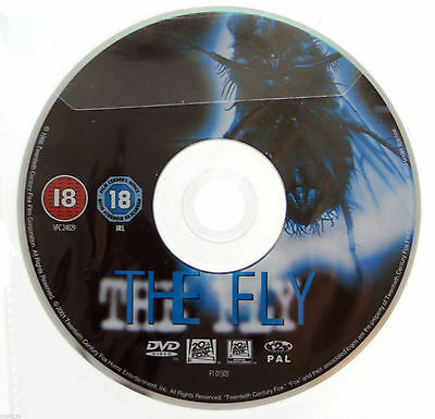 The Fly - DVD R2 PAL 2005 - Jeff Goldblum - DISC ONLY in Plastic Sleeve