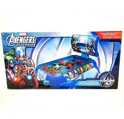 MARVEL COMIC AVENGERS TABLE TOP SUPER PINBALL GAME MACHINE XMAS GIFTS TOY 261002