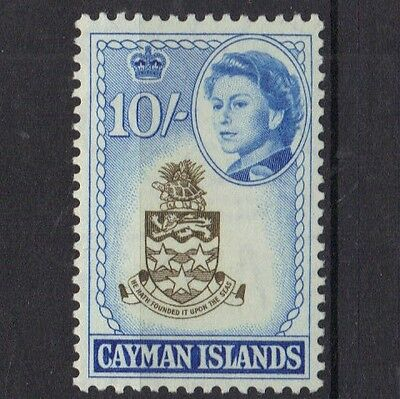 STAMPS  from CAYMAN ISLAND  1962 Q. ELIZ. 10/-  (MNH)  lot (BC29)