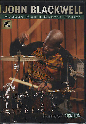 John Blackwell Hudson Music Master Series Drum DVD