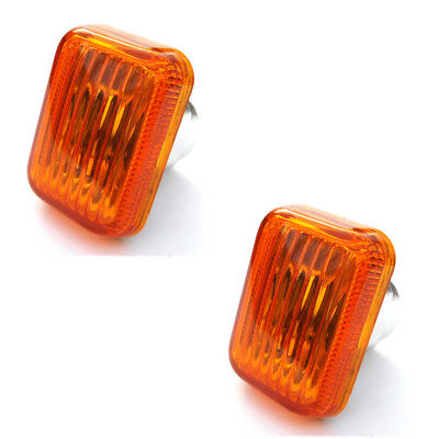 Land Rover Discovery Orange Amber Side Repeaters Indicators Lights Lenses Lens