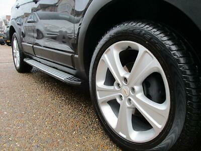 OUT OF STOCK Chevrolet Captiva 2007+ Side Steps Running Boards Set - Type 2