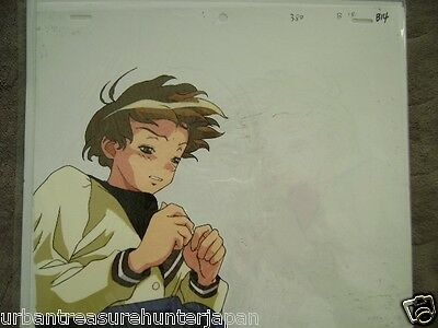 The Vision Of Escaflowne Hitomi Anime Production Cel 1