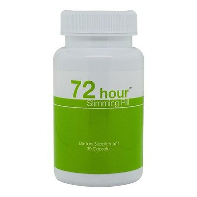 72 Hour Slimming Pill - Top Weight Loss Pill for Safe and Fast Detox Diet