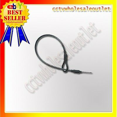 100 PCS BLACK LANYARDS WITH PIN & LOOP FOR CHECKPOINT 8.2 MHz HARD TAG