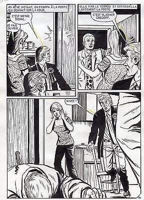 Terreur A Tarragone (Vicente Farres) Planche Face D'ange Aredit Page 34